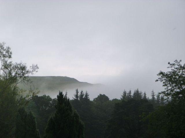 Mist on teh hills - 23072017