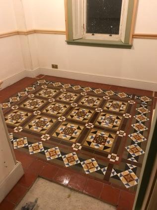 Porch floor - 26092017