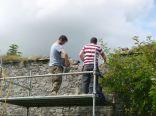 Repairing garden wall 2 - 31082017