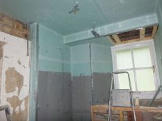 Showerroom - plasterboarded - 22072017