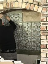 Tiling in Kitchen - 21072017