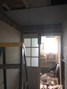 Utility room ceiling - 17072017 - SH