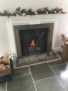 Kitchen fire - 16122017