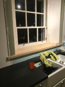 Kitchen window cill - 28112017