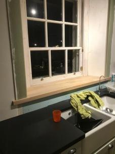 Kitchen window cill - 28112017