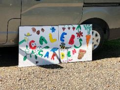 Caleb garden sign - 06052018