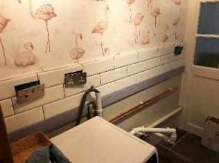 Laundry tiling - 22052018