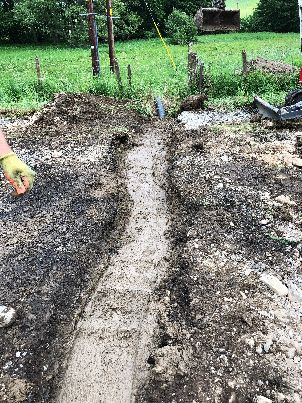 Track trench 14 - 04062018