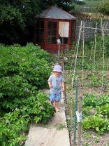 Emilia in garden 1 - 06072018