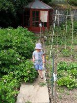 Emilia in garden 2 - 06072018