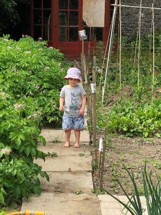 Emilia in garden 4 - 06072018