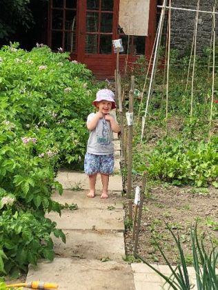 Emilia in garden 5 - 06072018
