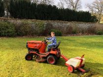 Caleb on tractor - 23022019