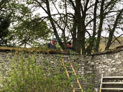 Lime wall repairs 1 - 23042019
