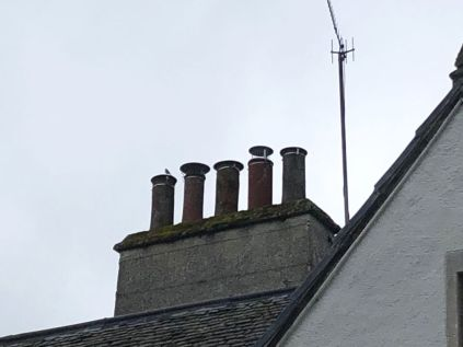 Chimney to round room - 13102019