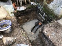 Drain from Potting Shed - 11102019