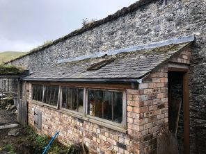 Potting Shed 5 - guttering - 13102019