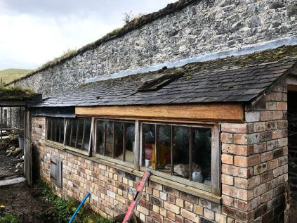 Potting Shed - guttering - 13102019