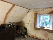 Top floor plastering 1 - 10102019