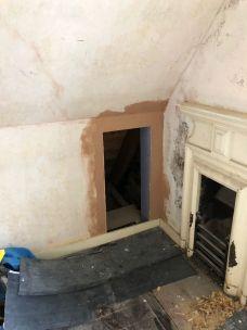 Top floor plastering 2 - 08102019