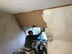 Top floor plastering 2 - 10102019