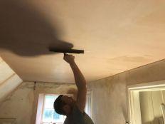 Top floor plastering 2 - 11102019