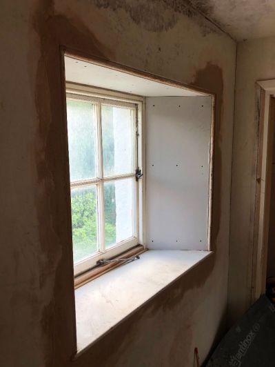 Top floor plastering 3 - 08102019