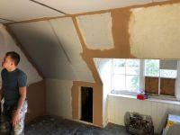 Top floor plastering 5 - 08102019