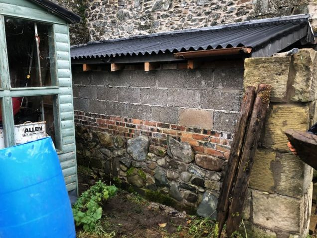 Tractor Bay wall - 16112019