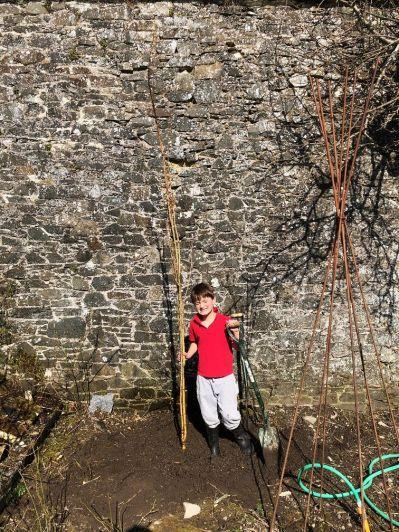 Tree planting - Caleb 1 - 22032020